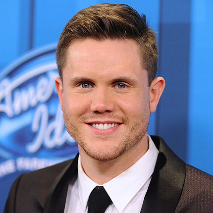 """HOLLYWOOD, CALIFORNIA - APRIL 07:  Singer Trent Harmon poses in the press room at FOX's """"American Idol"""" finale for the farewell season at Dolby Theatre on April 7, 2016 in Hollywood, California.  (Photo by Jason LaVeris/FilmMagic)"""